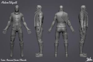 3D Character 01: Aiden Wyatt High Poly by Ulamb