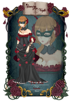 CdR masquerade: The Rose by Juuri-No-Sekai
