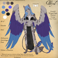 Reference Sheet - Wyrd by spellplague