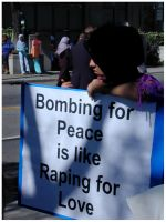 Bombing For Peace by SweetMysterium