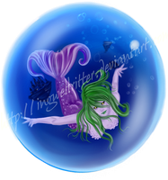 Mermaid Bubble by IngwellRitter