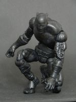 Black Panther in action (custom) by LuXuSik