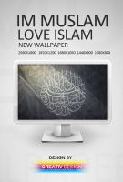 love islam wallpaper by SD2011