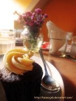 Chocolate Cream Cheese Cupcake by HaineXjnh