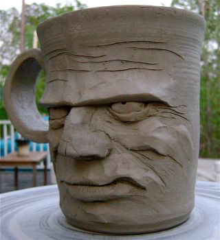 unfinished snarl mug 3 by thebigduluth