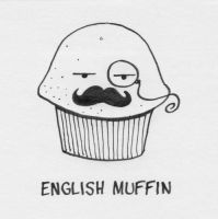english muffin by lilipads