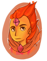 Flame Prince by Parliy