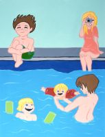page 2.The family swims by hiddentalent1