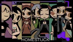 :::HOMESTUCK GIRLS WALLPAPER:: by princelupin