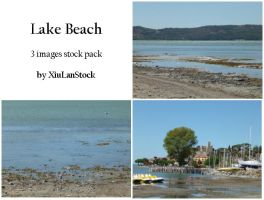 Lake Beach - 3 Images Stock Pack by XiuLanStock
