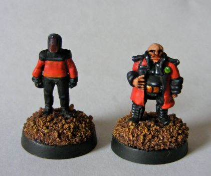 15mm Scale Sci-fi Adventurers by SpaceCowSmith