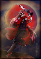 Blood Moon by SweetLittleVampire
