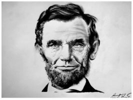 Abraham Lincoln by Lampert
