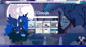 Luna Google Chrome Theme by NekoKawaii11