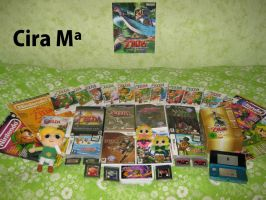 My favourite collection TLoZ by ChristalLovePkmn