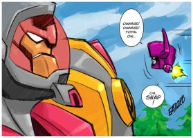 Omega Supreme VS. Headmaster by iq40