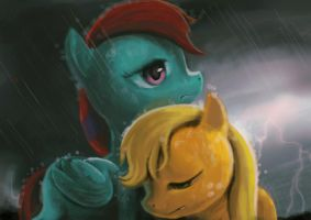 [appledash]Rainstorm by TIGER-TYPE
