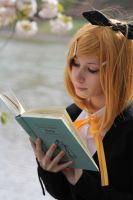 Reading Stock 32 by Malleni-Stock