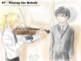 Theme 67 - Playing the Melody by ChibiEdo