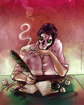 Busy Papa by Vivern-of-Nosgoth