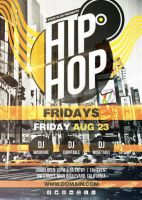 Hip Hop - Flyer by VectorMediaGR