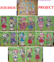 :Touhou: Character Madness by SuperMarioFan888