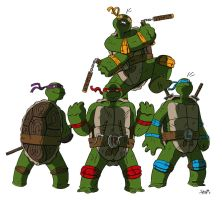 Hero Turtles by stayte-of-the-art