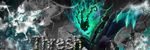 Thresh (LoL) Banner by SerenaHarmonia