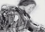 Edge of Tomorrow - Emily Blunt by MirieSolem