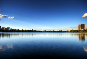 Central Park Reservoir by MJKam11