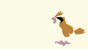 Pidgey from Pokemon | Minimalist by matsumayu