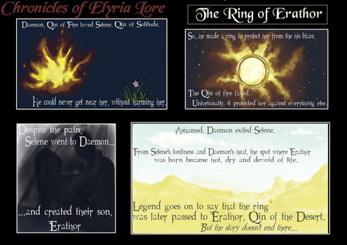 The Ring of Erathor (lore) by ashenmoons