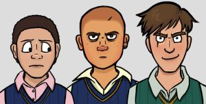 Bully - Petey, Jimmy and Gary by Delicious-Poundcake
