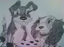 Lady And The Tramp by Angel-Tara-818