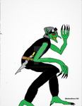 Goblin (AGGRESSS) Commission- Colored by maskedhero100