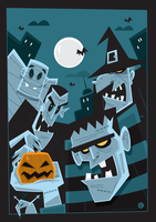 Halloween Vector by funky23