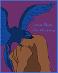 Luna Blue the Phoenix by SassyDragon18