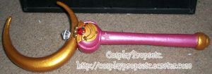 Crescent Moon Rod Improved by CosplayPropsEtc