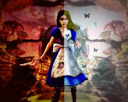 Alice in Wonderland by AXel-KL