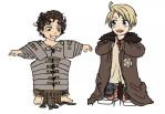 APH - ChibiRoma y ChibiAmerica by C4L4M1T43R0ST4T0