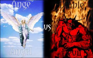 Ange vs Diable by flo861