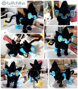 Luxray by Witchiko