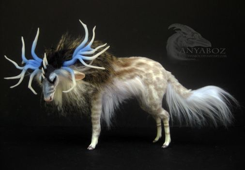 Clear Water Stag Room Guardian by AnyaBoz