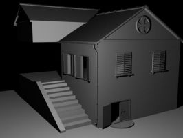 Old house WiP by ShangyneX
