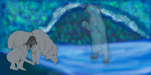 ROD: In The Realm Of The Spirit Bear WIP by lighteningfox