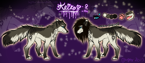 .:Keiko Reference:. 2013 by chillisart