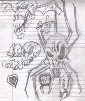 Skulltulas and Other Things by Phycosmiley