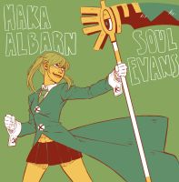 Maka- color palette challenge by Jazzie560