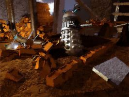 dalek rubble by ThrashBarstool