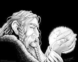 King Thror: Arkenstone Gazing by cfgriffith